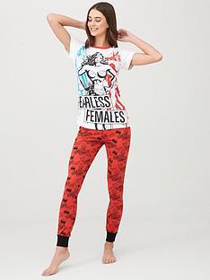 wonder-woman-wonder-woman-fearless-females-pyjama-print