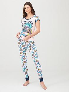 marvel-marvel-be-my-hero-pyjama-print