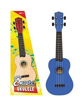 Encore Encore Ukulele Blue Picture
