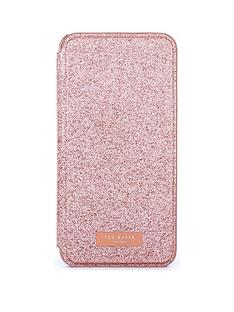 ted-baker-ted-baker-glistey-mirror-folio-case-for-iphone-xr-rose-gold