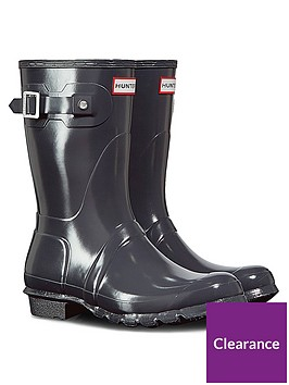 hunter-original-short-gloss-wellington-boot-slate