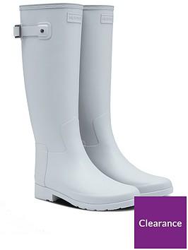 hunter-refined-tall-wellington-boot-light-grey