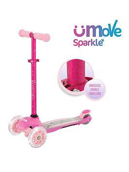 U Move U Move Sparkle Compact Adjustable Tilt Led Scooter Picture