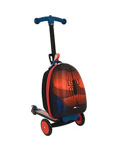 spiderman-scootin-suitcase