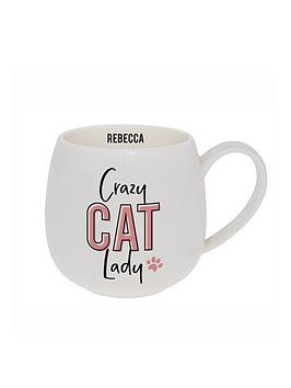 Very Crazy Cat Lady Hug Mug