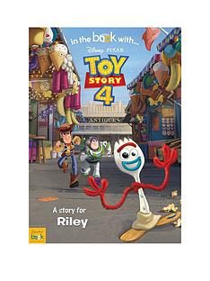 disney-personalised-toy-story-4-book