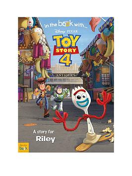 Disney Disney Personalised Toy Story 4 Book Picture
