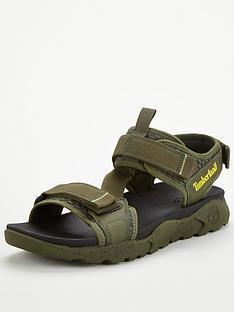 timberland-ripcord-2-strap-sandals-green