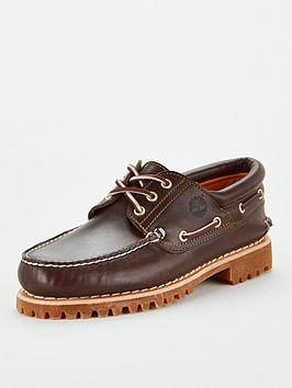 Timberland Timberland Authentics 3 Eye Boat Shoes - Brown Picture