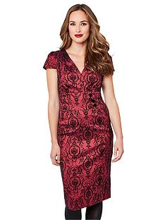 joe-browns-stunning-flocked-dress
