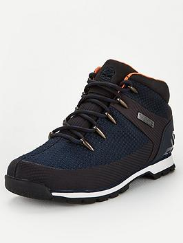 Timberland Timberland Euro Sprint Fabric Waterproof Boots - Navy Picture