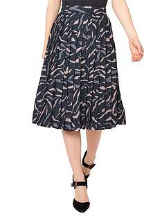 joe-browns-animal-pleated-skirt