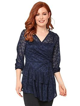 Joe Browns Joe Browns Lacy Wrap Style Top Picture