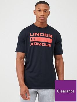 under-armour-team-issue-wordmark-t-shirt-black