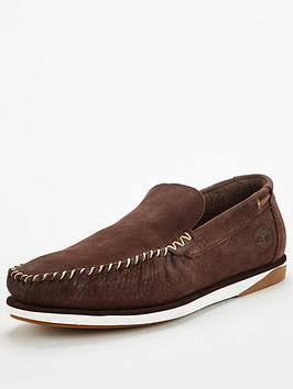 Timberland Timberland Atlantis Break Slip On Loafers - Brown Picture