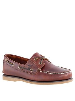 Timberland Timberland Classic Leather Boat Shoes - Brown Picture