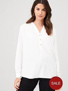 warehouse-pullover-top-ivory