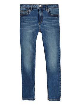 River Island River Island Boys Danny Super Skinny Jeans-Blue Picture