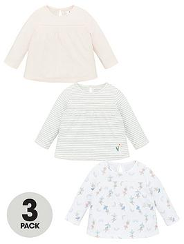 V by Very V By Very Baby Girls Ballerina 3 Pack Tops Picture
