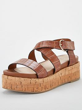 Office Office Minka Wedge Sandal - Tan Picture