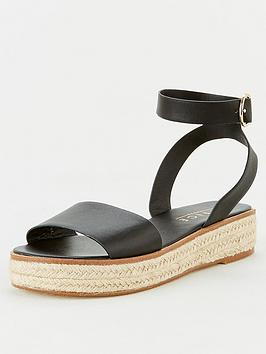 Office Office Mimoko Wedge Sandal - Black Picture