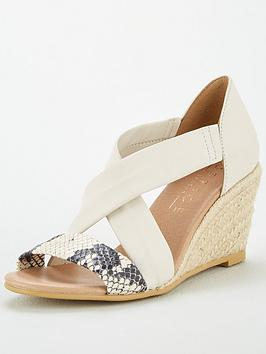 Office Office Maiden Wedge Sandals - Off White Picture