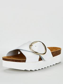 Office Office Milana Wedge Sandal - White Picture