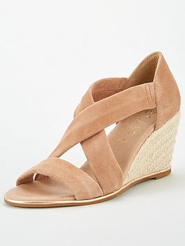 Office Office Maiden Wedge Sandals - Nude Picture
