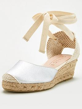 Office Office Mini Wedge Sandal - Silver Picture