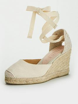 Office Office Marmalade Wedge Sandal - Natural Picture