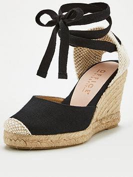 Office Office Marmalade Wedge Sandal - Black Picture