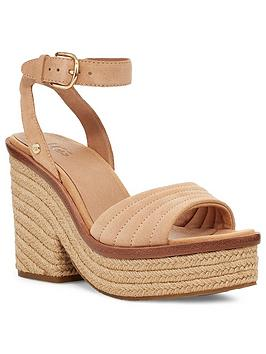 Ugg Ugg Laynce Wedge Sandal - Bronze Picture