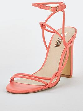 Office Office Hope Heeled Sandals - Coral Pink Picture