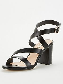 Office Office Maroon Heeled Sandal - Black Picture