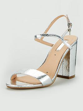 Office Office Hero Heeled Sandal - Silver Picture