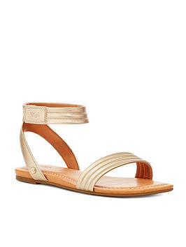 Ugg Ugg Ethena Flat Sandal - Gold Picture