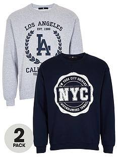 v-by-very-2-pack-printed-collegic-crew-sweat