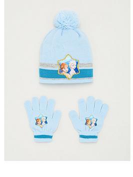 Disney Frozen Disney Frozen Toddler Girls Disney Frozen 2 Hat &Amp; Glove  ... Picture