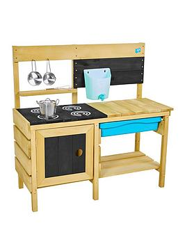 TP Tp Deluxe Wooden Mud Kitchen Picture