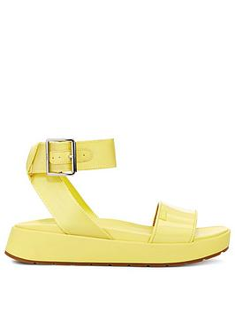 Ugg Ugg Lennox Flat Sandal - Yellow Picture