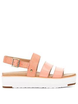 Ugg Ugg Braelynn Wedge Sandal - Pink Picture
