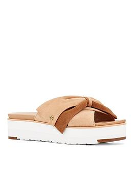 ugg-joanie-flat-sandal-bronzenbsp