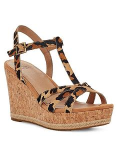 ugg-melissa-wedge-sandals-leopard