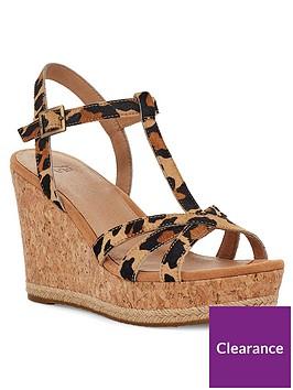 ugg-melissa-wedge-sandals-leopard