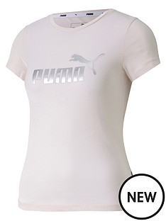 puma-girls-essential-t-shirt-pink