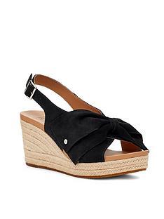 ugg-yaldra-wedge-sandal-blacknbsp