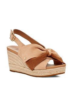 ugg-wedge-sandal-bronzenbsp