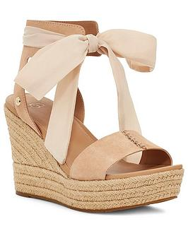 Ugg Ugg Wittley Wedge Sandals - Bronze Picture
