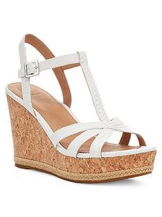 ugg-melissa-wedge-sandals-white