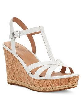 Ugg Ugg Melissa Wedge Sandals - White Picture